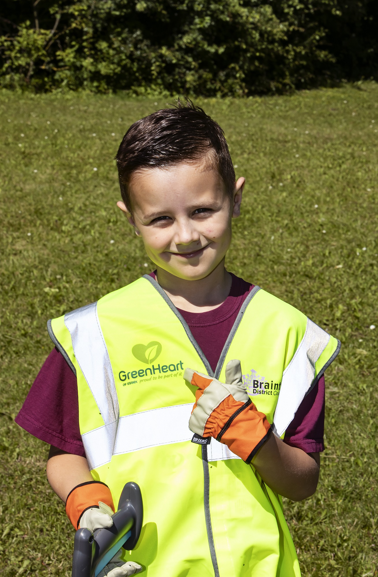 Daniel Walker, Junior Green Heart Champion
